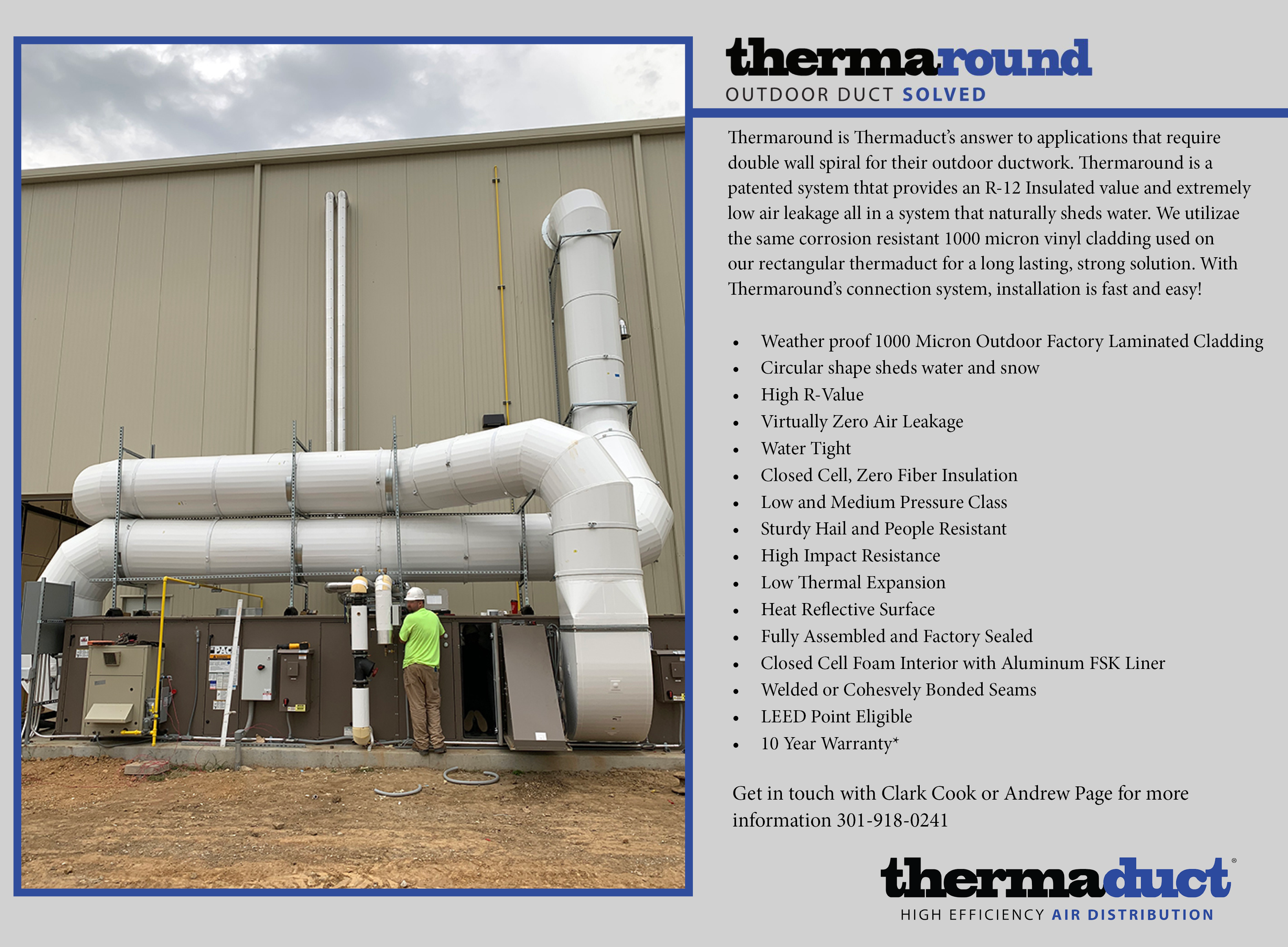 THERMAROUND™ ROUND SOLUTION IN OUTDOOR ENVIRONMENTS